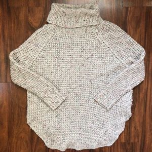 Free People Wool-Blend Turtleneck Sweater
